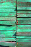 Old wooden board. With malachite pattern Stock Photography