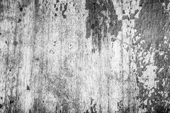 Old wooden board with the remains of paint. Selective focus. mon Royalty Free Stock Photography