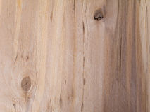 Old wooden board striped texture. With knots Stock Images