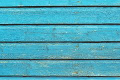 Old wooden board texture background pale blue color Royalty Free Stock Photo