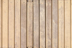 Old wooden boards with cross beige paint Stock Photography