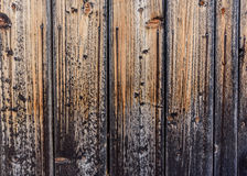 Old wooden boards with head nails Royalty Free Stock Photography
