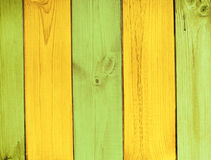 Old wooden boards of multicolor Royalty Free Stock Photo
