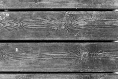 Old Wooden Boards. Old boards of one of the piers in Sopot, Poland Royalty Free Stock Images