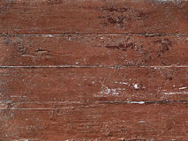 Old wooden boards painted in red color as the background Royalty Free Stock Images