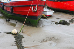 Old Wooden Boat. Decayed, Old and  Wooden Boat Royalty Free Stock Photo