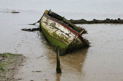 Old Wooden Boat Stock Images