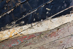 Old wooden boat texture Royalty Free Stock Image