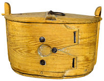 Old wooden box Stock Images