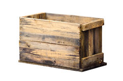 Old wooden box Royalty Free Stock Image