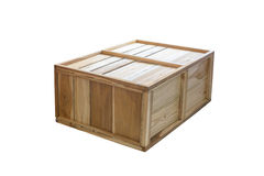 Old wooden box Stock Photos