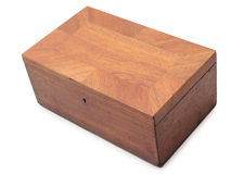 Old wooden box Royalty Free Stock Photo