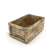 Old wooden box Stock Photography