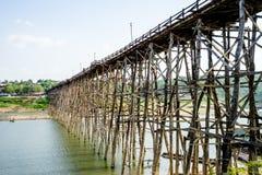 Old wooden bridge Bridge Stock Photography
