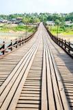 Old wooden bridge Bridge Royalty Free Stock Image
