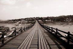 Old wooden bridge Bridge Royalty Free Stock Photo