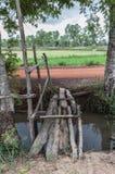 The old wooden bridge Stock Photos