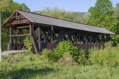 Old wooden bridge, Slovakia Stock Images
