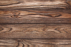 Old wooden brown background of four boards Royalty Free Stock Image