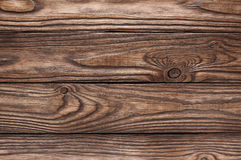 Old wooden brown background of four boards Royalty Free Stock Images