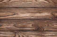 Old wooden brown background of four boards Stock Photos