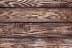Old wooden brown background of four boards Royalty Free Stock Photo