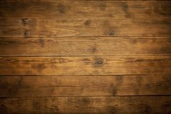 Old wooden brown background Royalty Free Stock Image