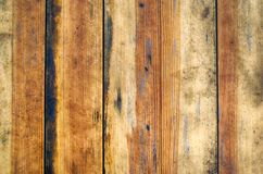 Old wooden brown texture, background for design. horizontally. Abstraction, wallpaper Stock Photos