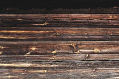 Old wooden brown texture planks Stock Photos