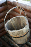 Old wooden bucket Royalty Free Stock Photography