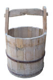 Old Wooden Bucket Royalty Free Stock Images