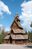 Old wooden building. On a bright day Stock Photos