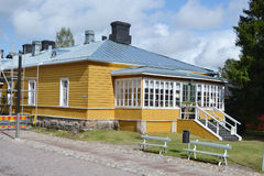 Old wooden building in Lappeenranta, Finland Stock Photo