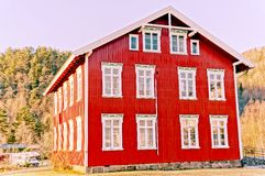 Old wooden building utilities Royalty Free Stock Photography