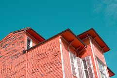 Old wooden building Stock Images