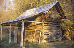 Old wooden cabin Stock Photos
