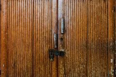 Old wooden cabinet royalty free stock photography