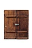 Old wooden cabinet Stock Images