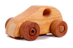 Old wooden car Royalty Free Stock Photo