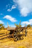 Old Wooden Cart Royalty Free Stock Photo