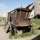 Old wooden cart. Stock Images