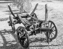 Old wooden cart Royalty Free Stock Images