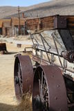 Old Wooden Cart, Bodie, California Royalty Free Stock Photography