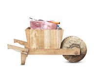Old Wooden Cart Royalty Free Stock Image