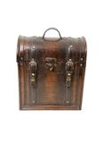 Old wooden case Stock Image