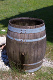 Old wooden cask Stock Images