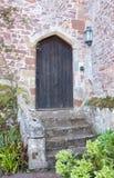 Old Wooden Castle Door royalty free stock photo