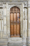 Old Wooden Medieval Cathedral Door Stock Photos