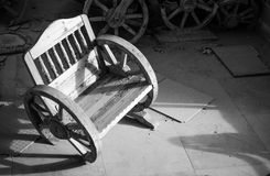 Old Wooden Chair Royalty Free Stock Images