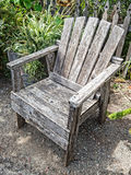 Old wooden chair Royalty Free Stock Image